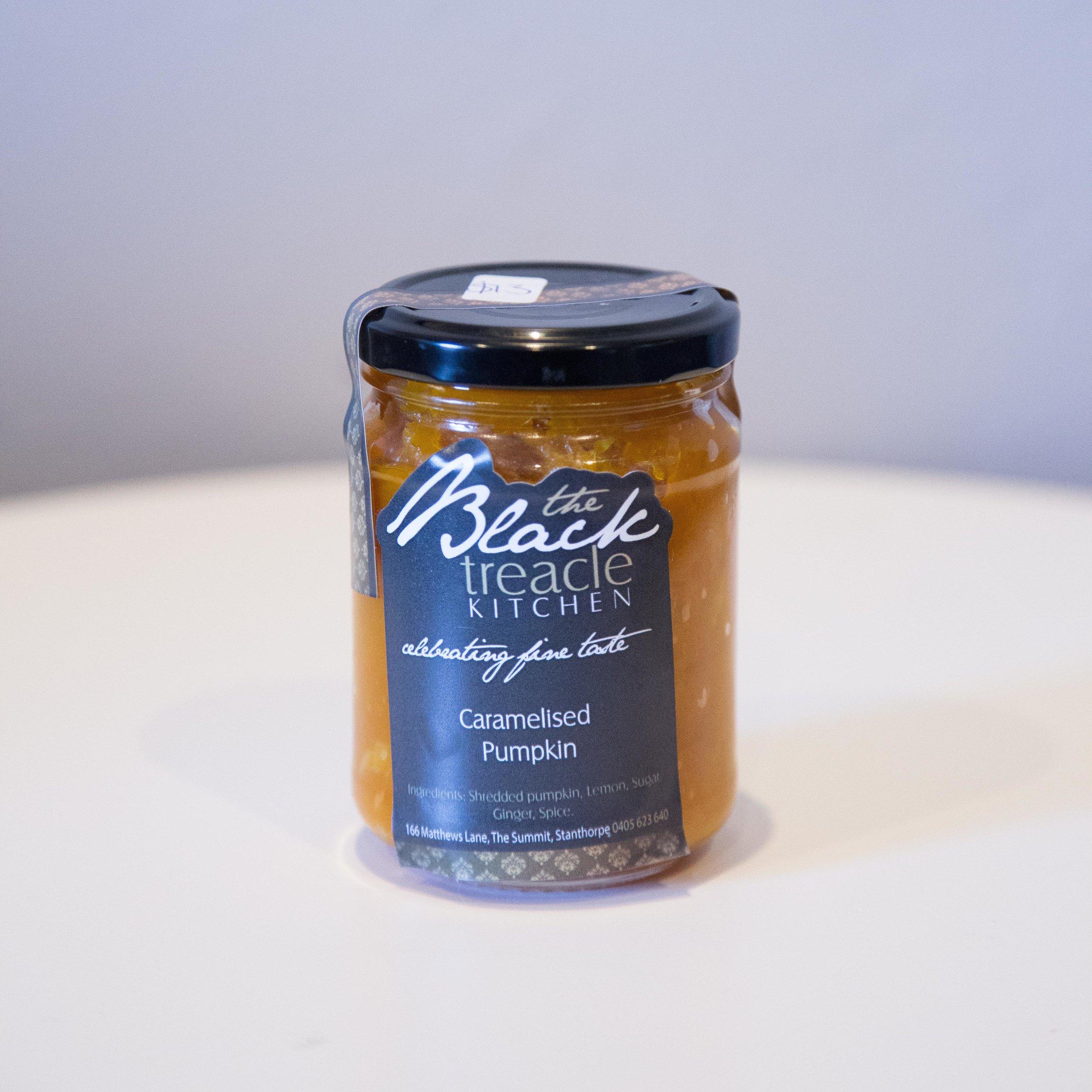 Black Treacle - Caramelised Pumpkin  - $12