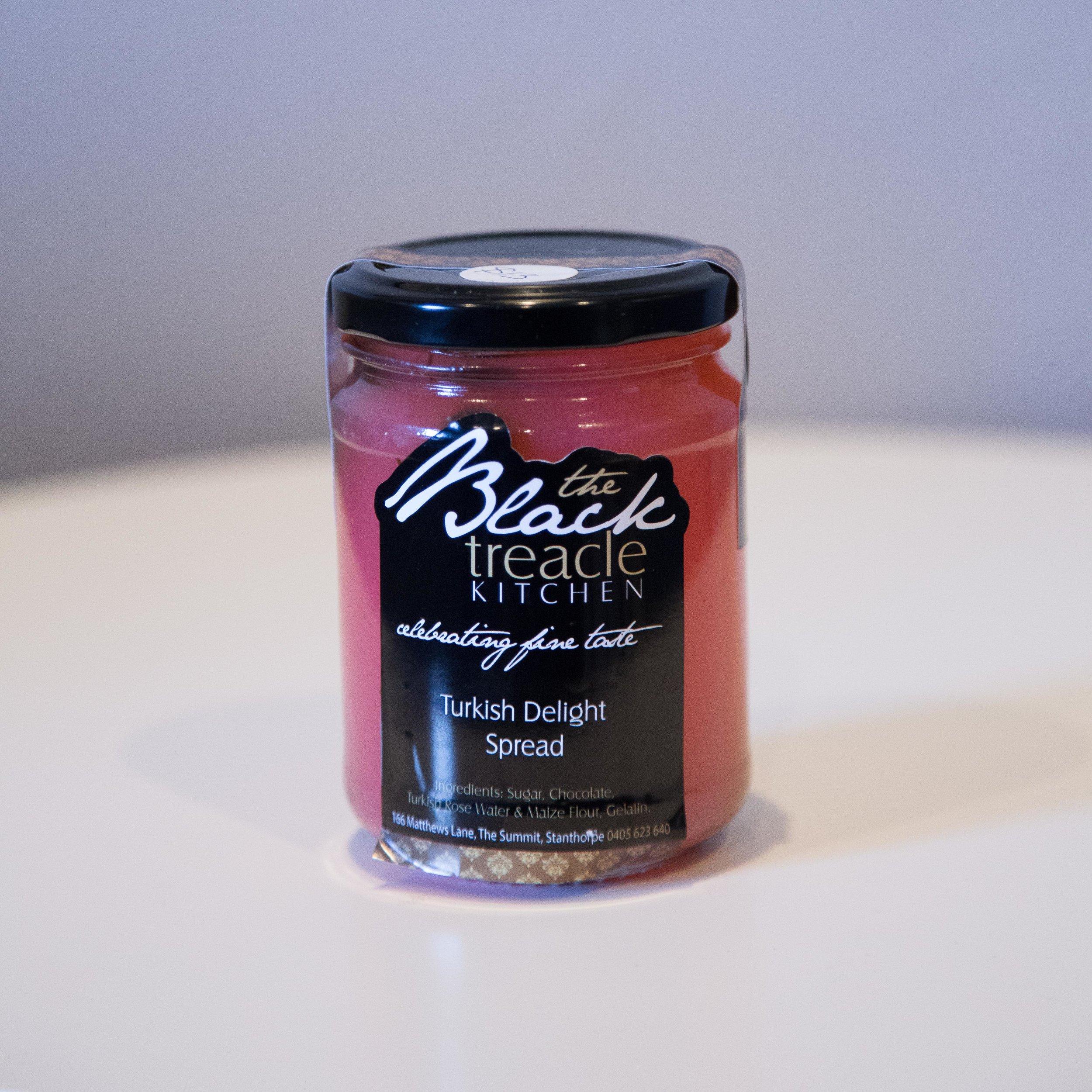Black Treacle - Turkish Delight Spread - $12