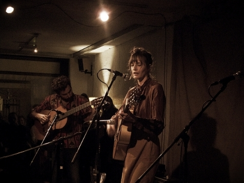 Josephine Foster with Victor Herero at Cafe OTO