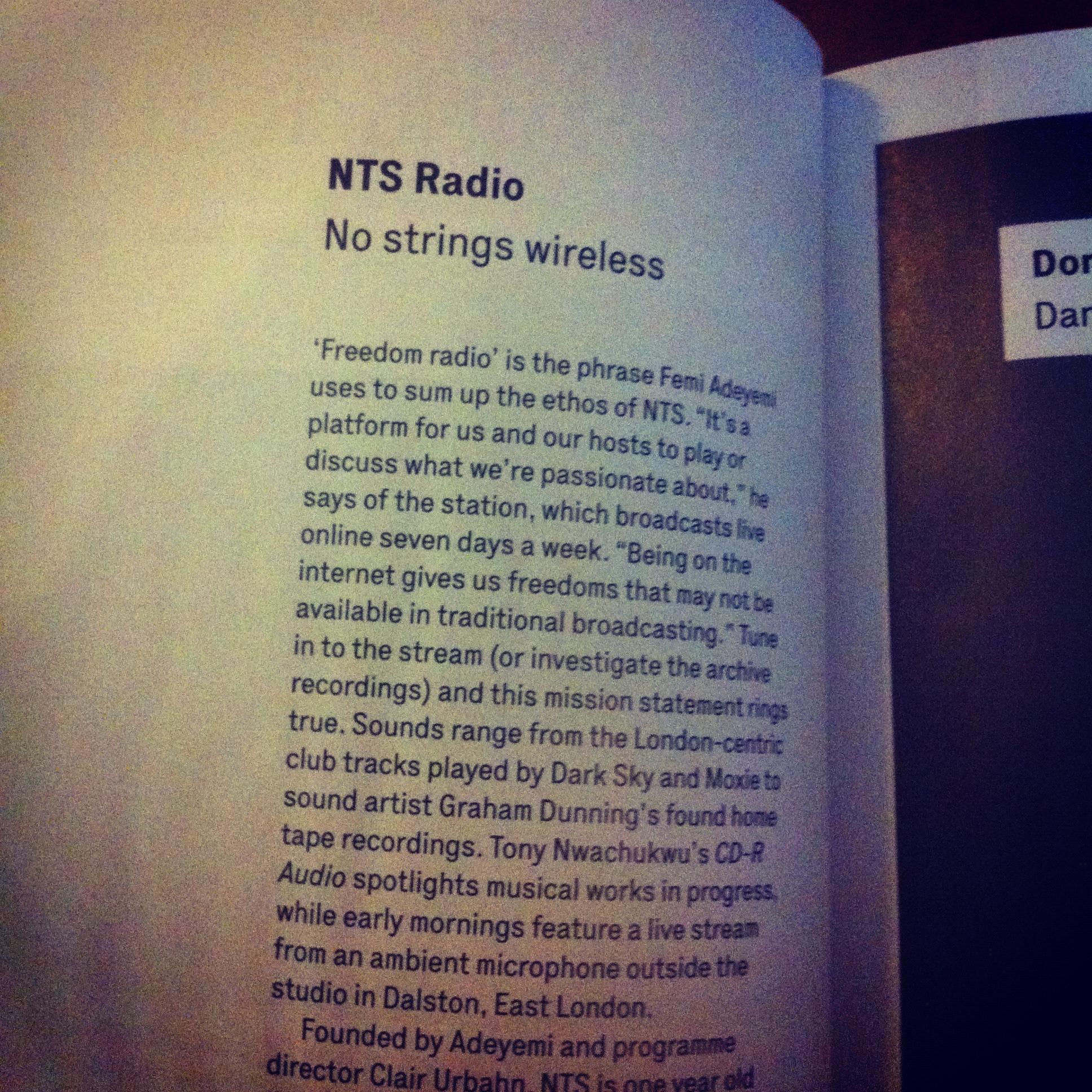 WIRE Magazine, April, 2012