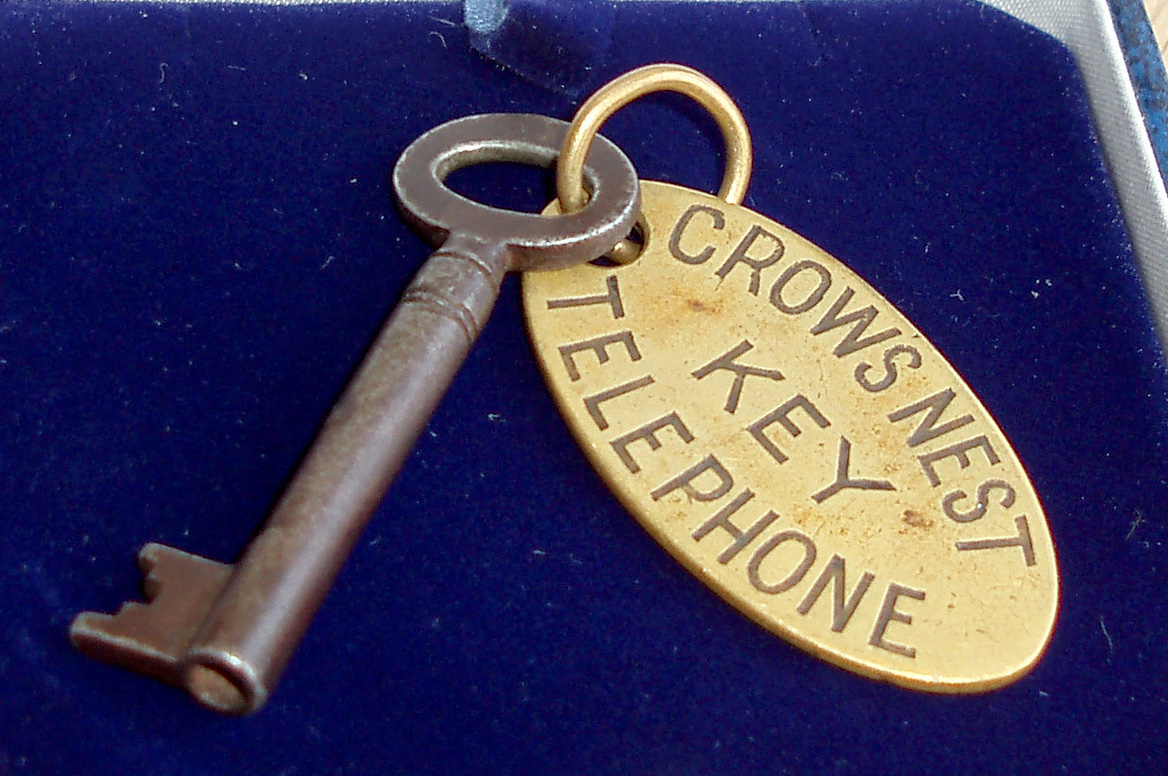 The Titanic key which sold for £90,000
