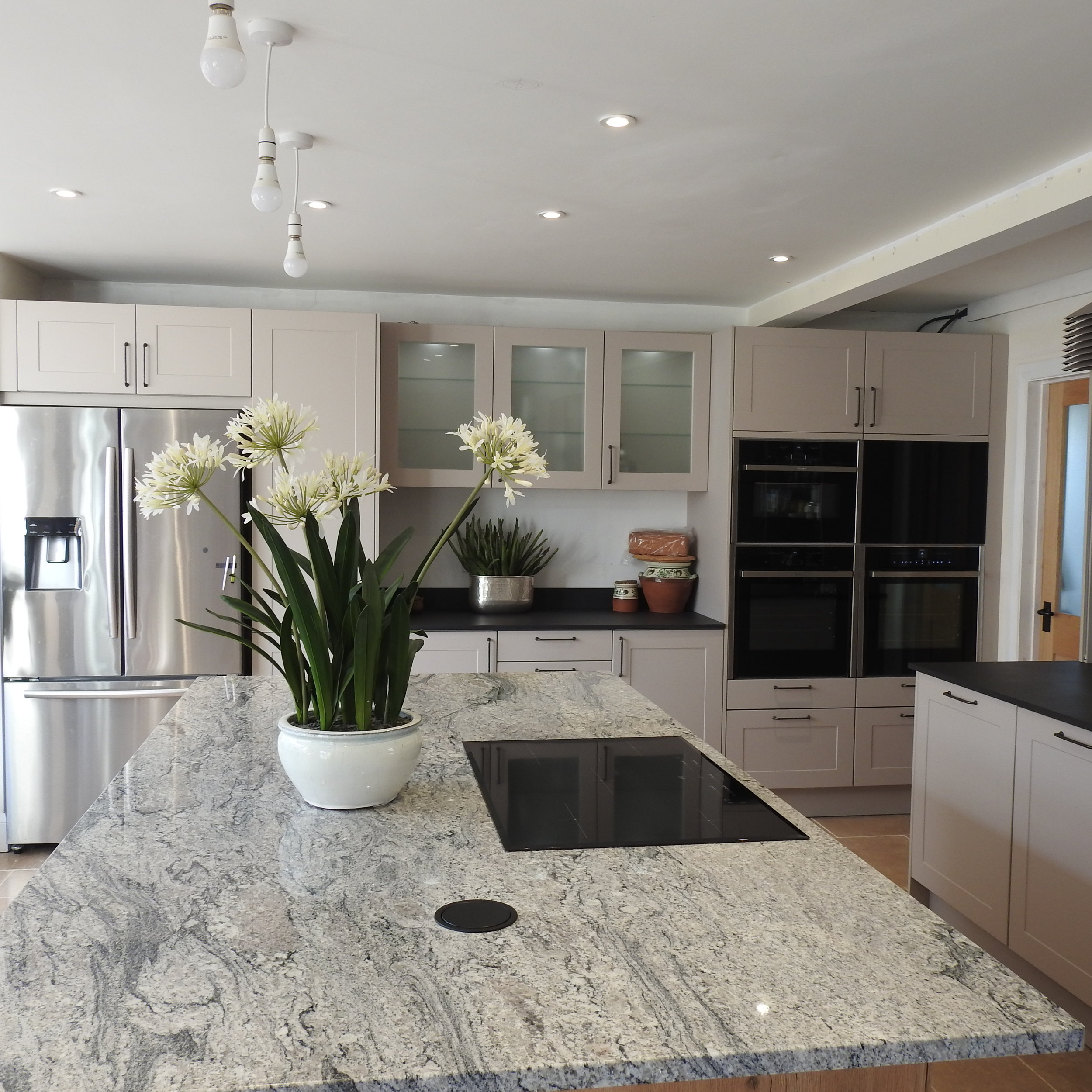 The Result - fabulous & functional Kitchen -'the heart of so much that matters in a home.' -