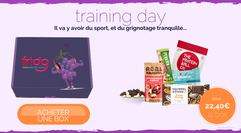 fridg-fridgbox La box de snacks healthy pour sportifs