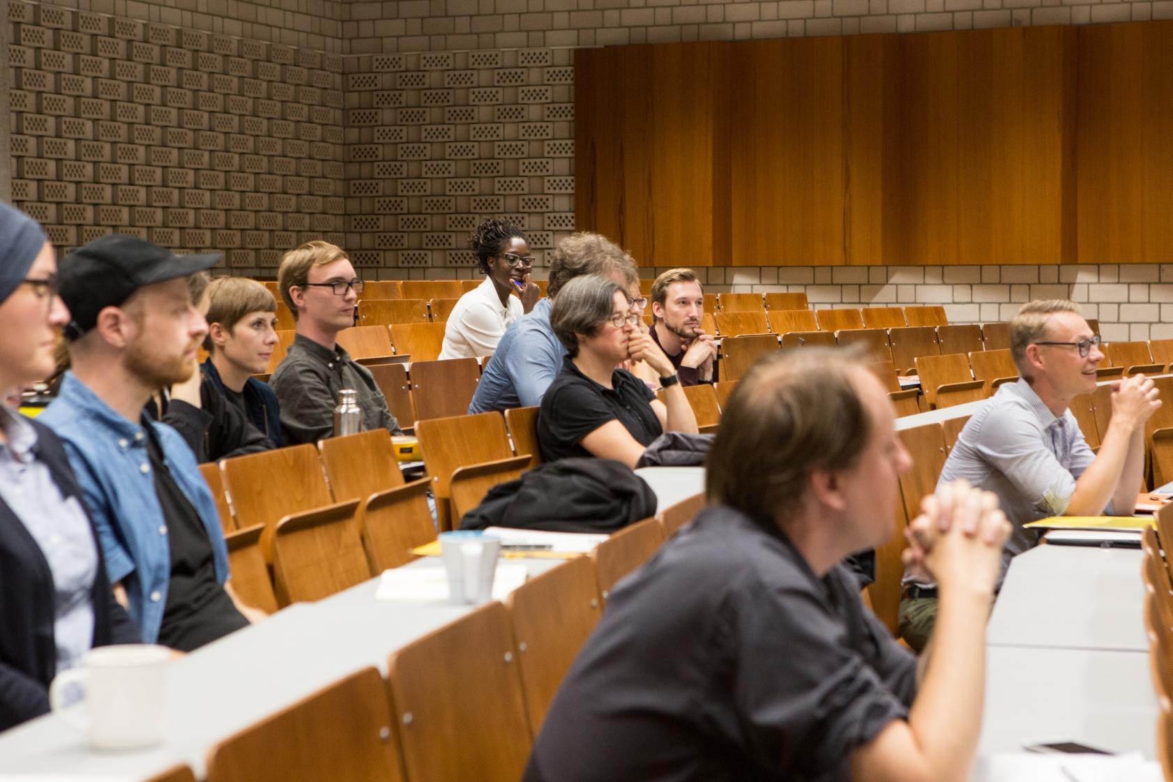 Teilnehmer*innen des Workshops