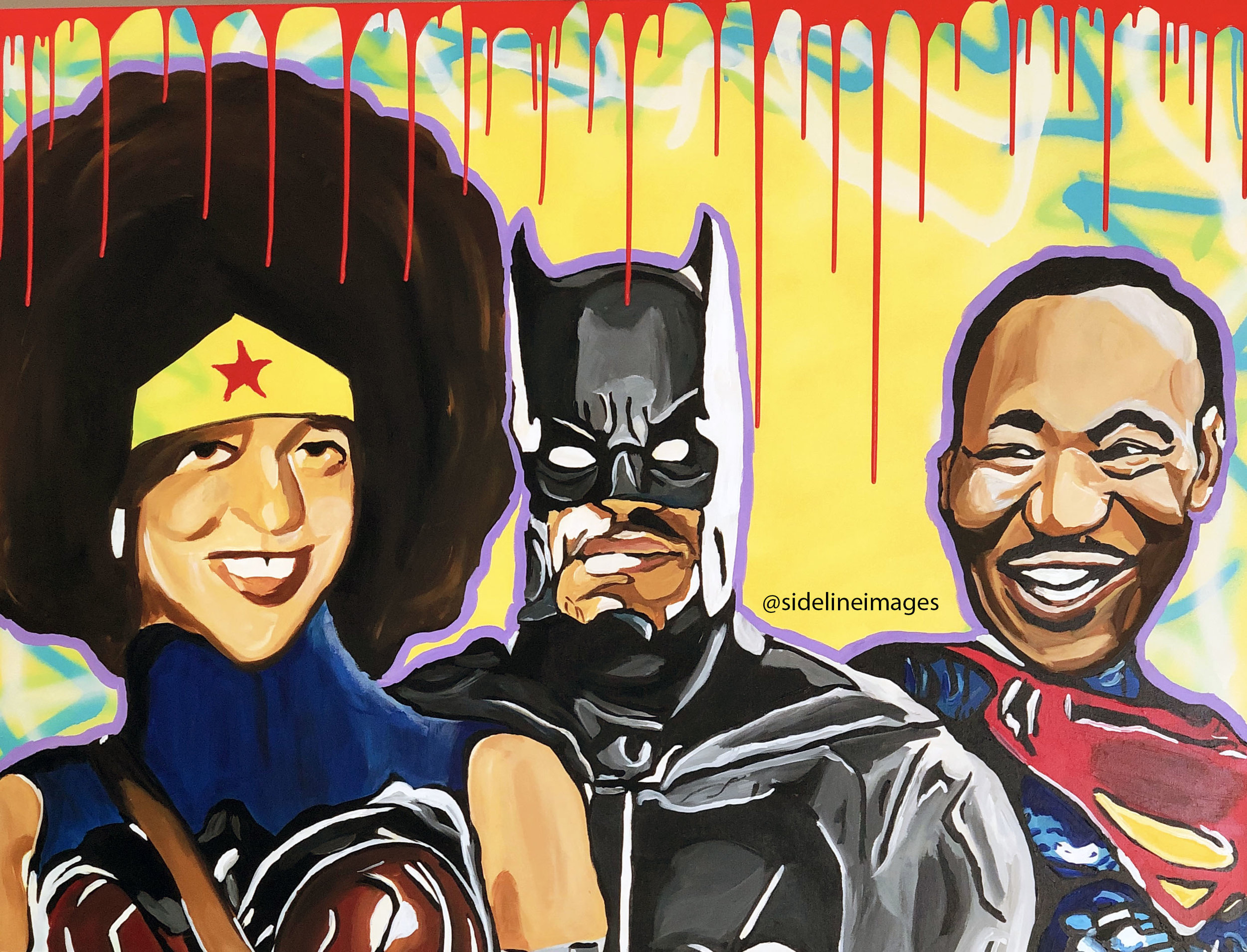 Freedom Fighters - Nai Turner36x48Acrylic PaintA ONE OF ONE PIECE. CERTIFICATE OF AUTHENTICATION PROVIDED.Contact Artist To Purchase