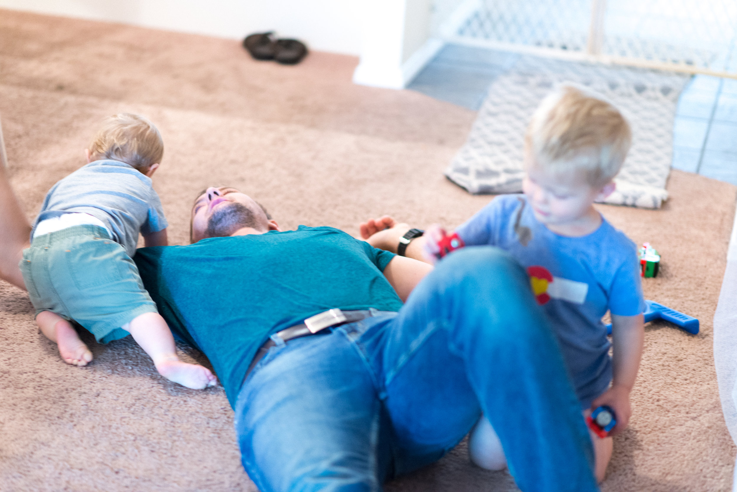 """If you've spent anytime around our family you know that we are all things boy. We had two boys in two years, so trains, wrestling, climbing, and """"Asher Smash"""" is a regular in our house."""