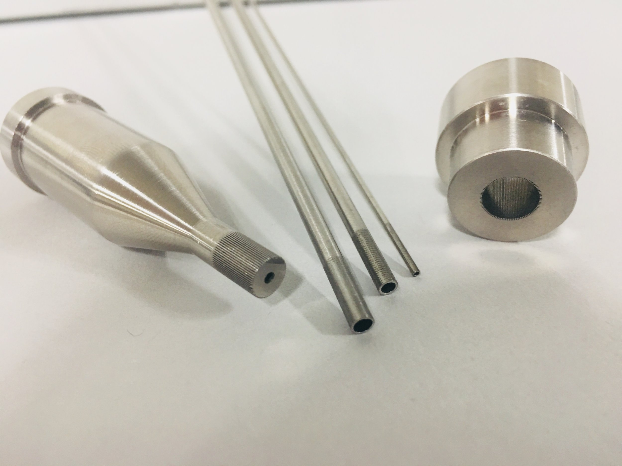 Custom Solutions - Inner and outer extrusion dies available for custom solutions in as little as 2-4 weeks. Contact us to learn more.