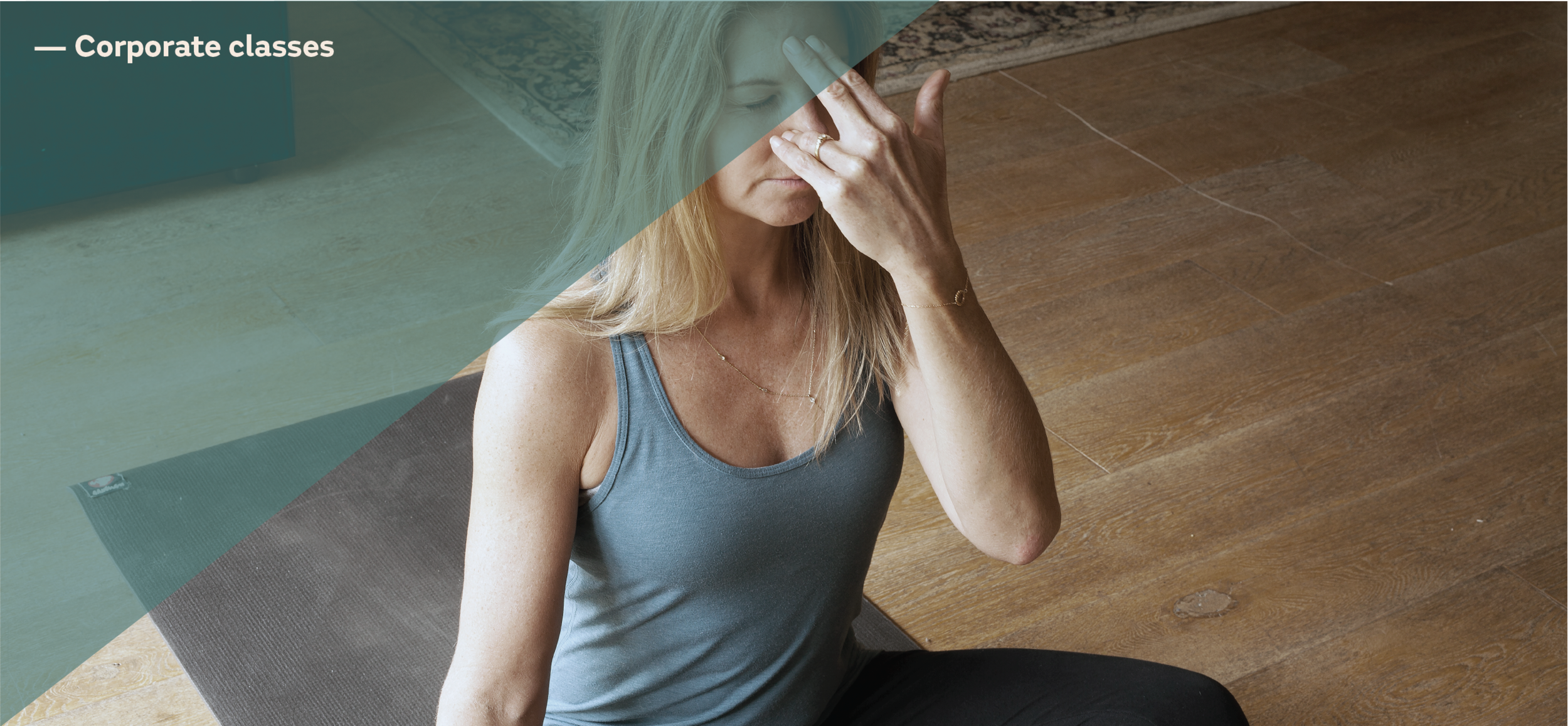 sylviayoga corporate meditation classes Dublin