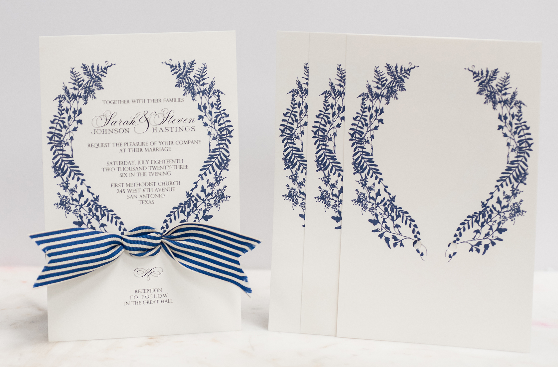 custom-stationery-blue-ecru-ribbon-stripes.jpg