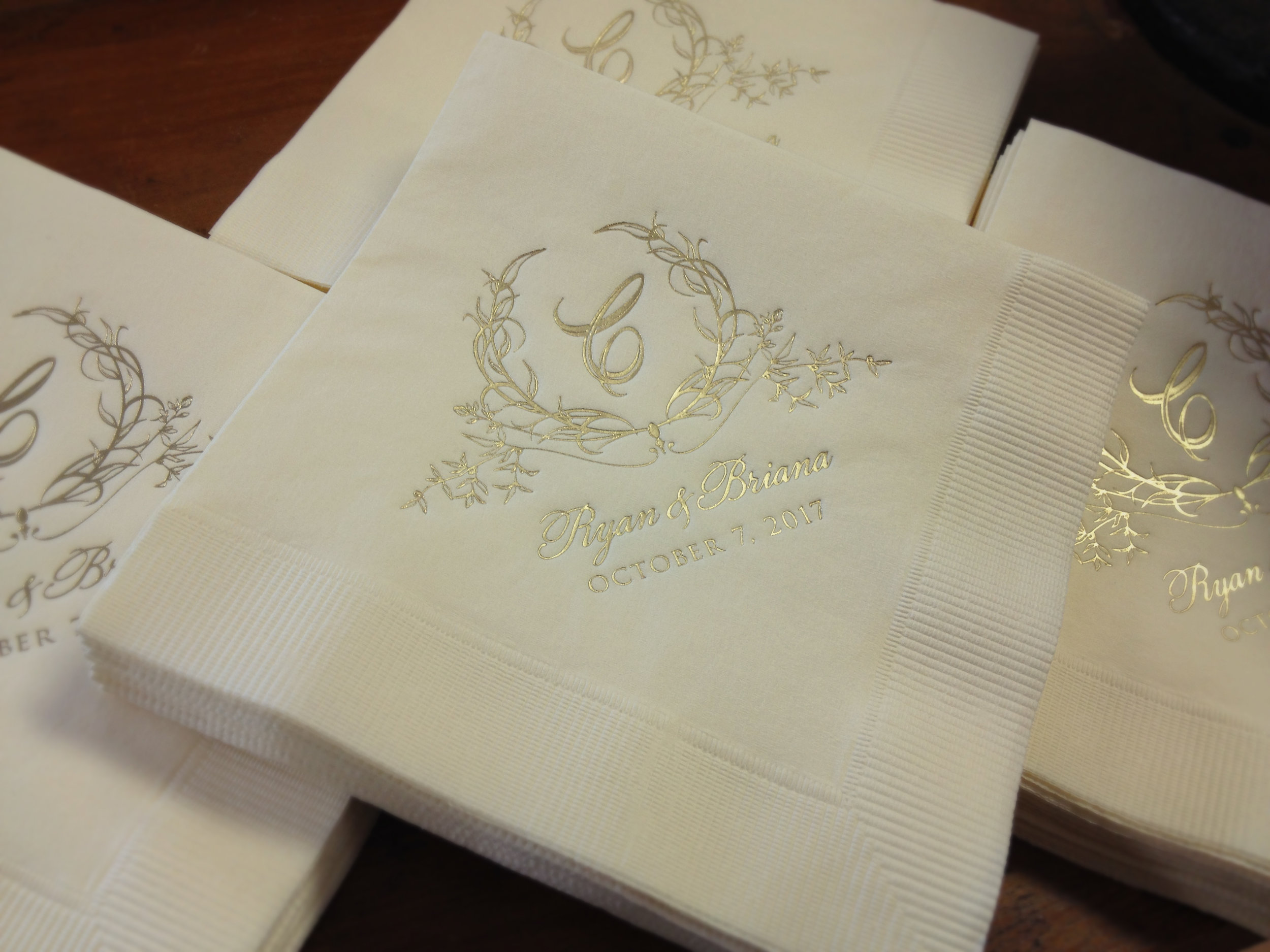 cocktail-ecru-napkin-gold-foil-custom-monogram-design.jpg