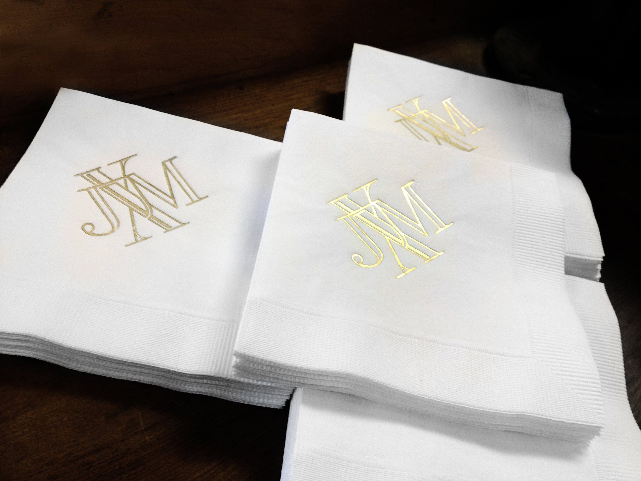 cocktail-napkin-gold-foil-custom-monogram-design.jpg