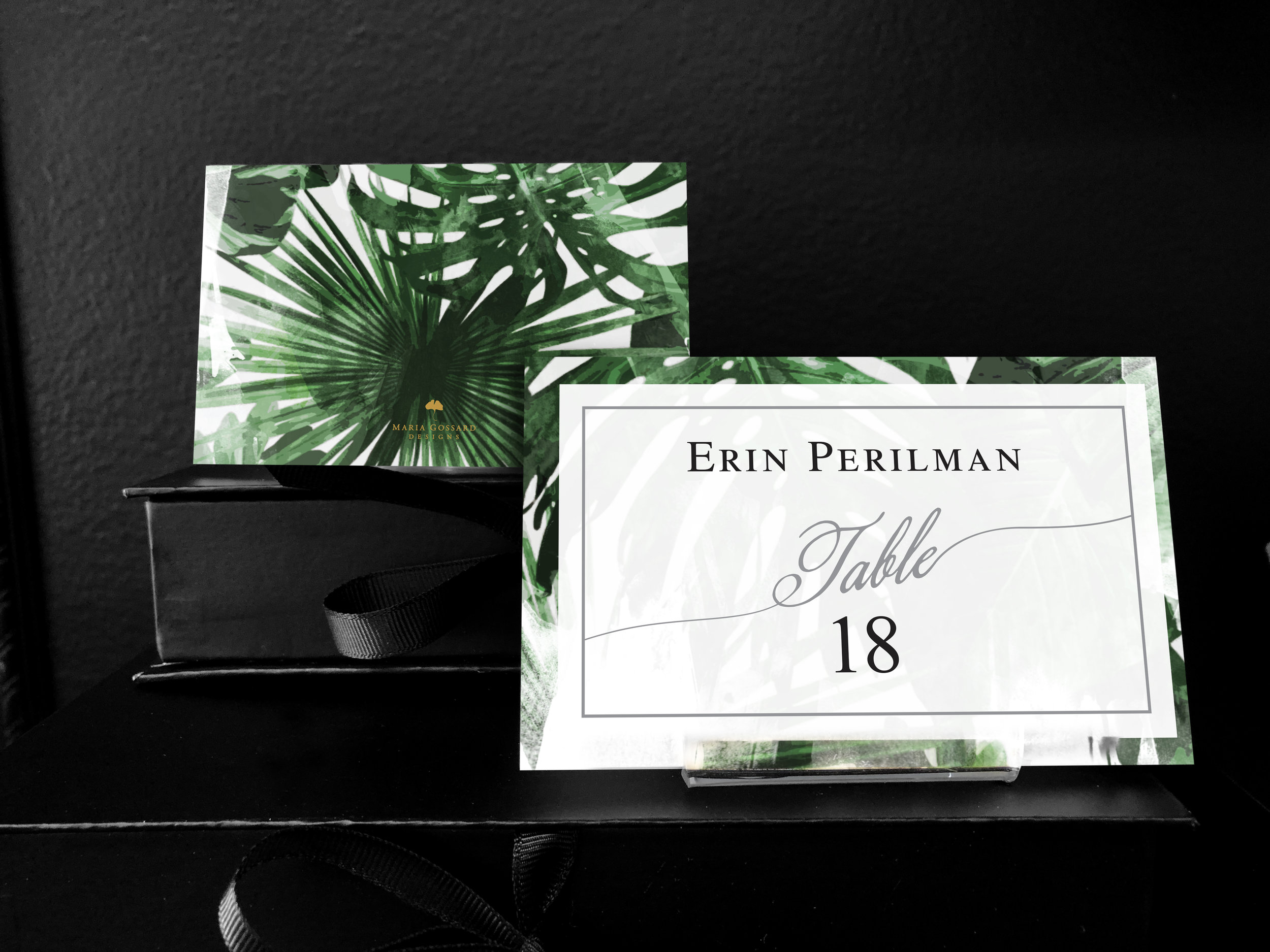tahitian-nights-wedding-place cards-tropical-green-pearl.jpg