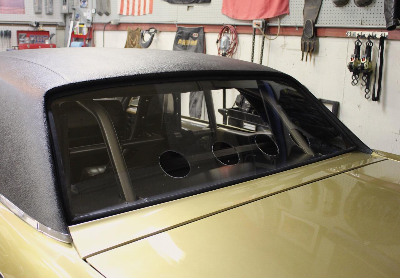 Lexan window test-fitted.