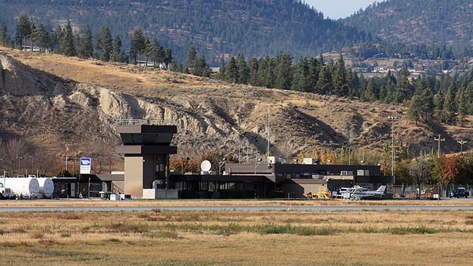 <strong>PENTICTON AIRPORT</strong><p>Penticton, BC</p>