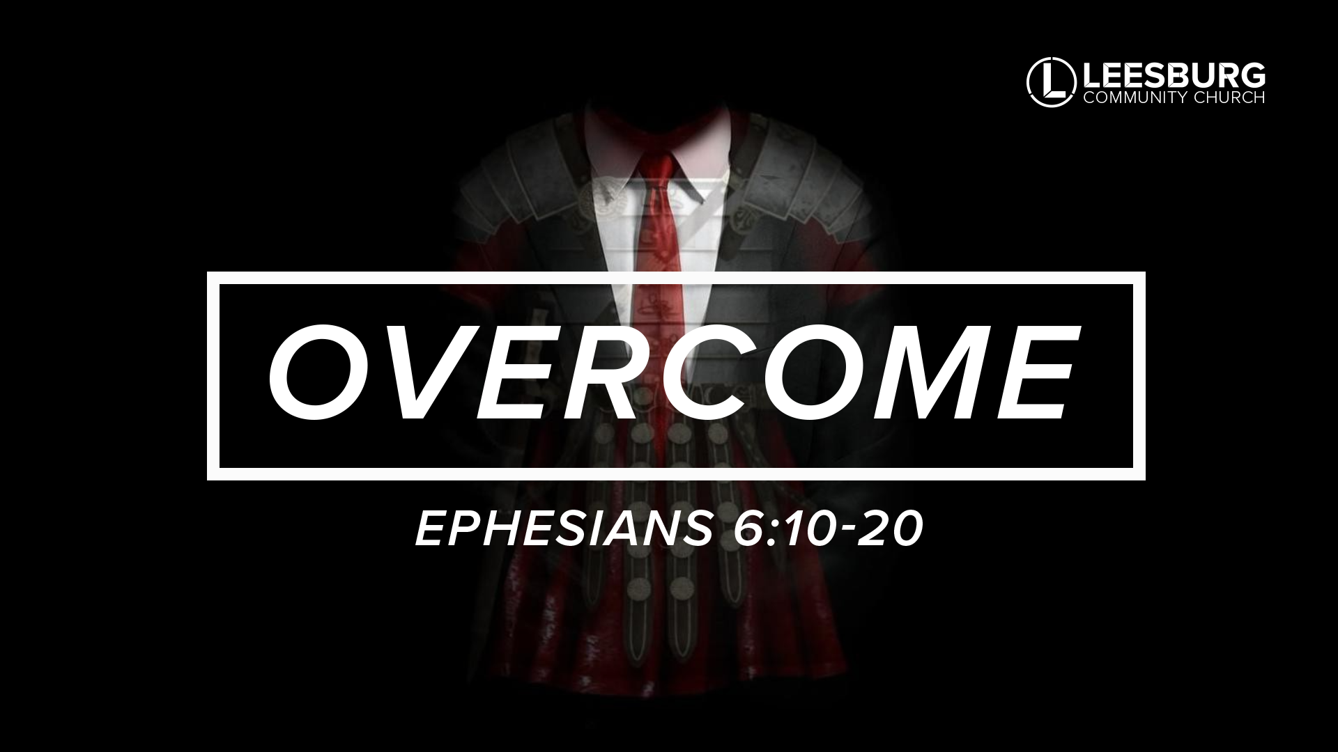In our Overcome series we will take a closer examination of the Armor of God from Ephesians 6 and see how God has given each believer the tools to face any obstacle that life might throw our way and overcome it in the power of Christ.