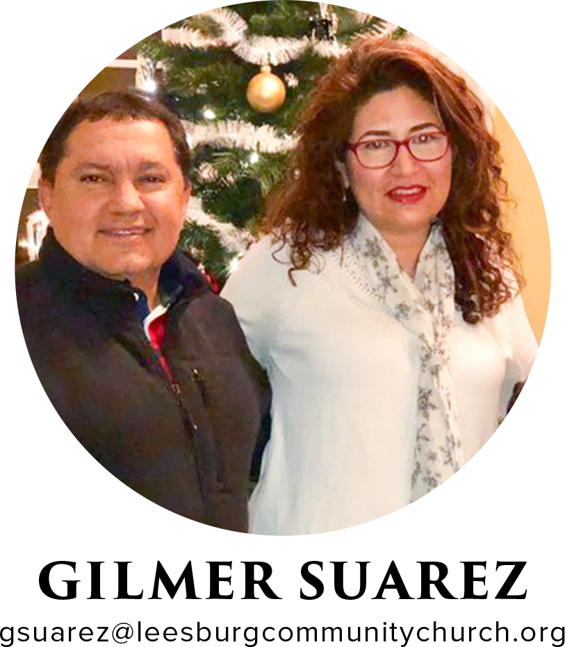 """Pastor of Spanish Ministries - When did I join the Leesburg Community Church staff? In June 2016What areas of ministry have I served in? I am serving as a pastor of the Hispanic ministryMy Family: I have been very happily married to Davie since June 24th 2000. We have two boys, Joseph our oldest is going to a junior in high school and the youngest son, Jeremy, is going into 5th grade.My Story: I met Jesus in a Christian group when I was in college, they shared the gospel and I opened my heart to Jesus. Later, I was called to form and serve bi-occupation in pastoral ministry and that is what I have been doing.Education: Bachelor of Administration, Major: Material and Financial Resources; 1999, Universidad Nacional """"Simon Rodriguez"""" Venezuela.Theological Studies; 1993, Latino American Faculty of Theological Studies, Venezuela.Previous Lines of Work: God gave me the chance to develop a professional career as a former business owner in Venezuela, with over 20 years in the retail and financial industry, with an emphasis in the jewelry industry; which includes jewelry reparation, manufacturing, and customer service. Through this job, I had the chance to testify my faith to customers and employees and reach them for Jesus Christ.Favorite Food: Seafood and vegetables.Favorite Place in the World: Beaches of the CaribbeanFavorite Hobbies: Camping and fishing.Favorite Sports Team: Brazil Soccer Team and New York YankeesFavorite Bible Story: The life and the call of AbrahamBest Advice Someone Gave Me: An influential minister in Venezuela advised me to evaluate each day asking, """" how is my relationship with God?"""" Because that would be a spiritual strength forever.Favorite Bible Verse: Isaiah 41: 10One of My Greatest Experiences with God: The way in which God allowed me to know who my wife is today.Most people don't know this about me: I like good humor from people.The one book (besides the Bible) I'd recommend to anyone is: Success God's Way Charles Stanley"""
