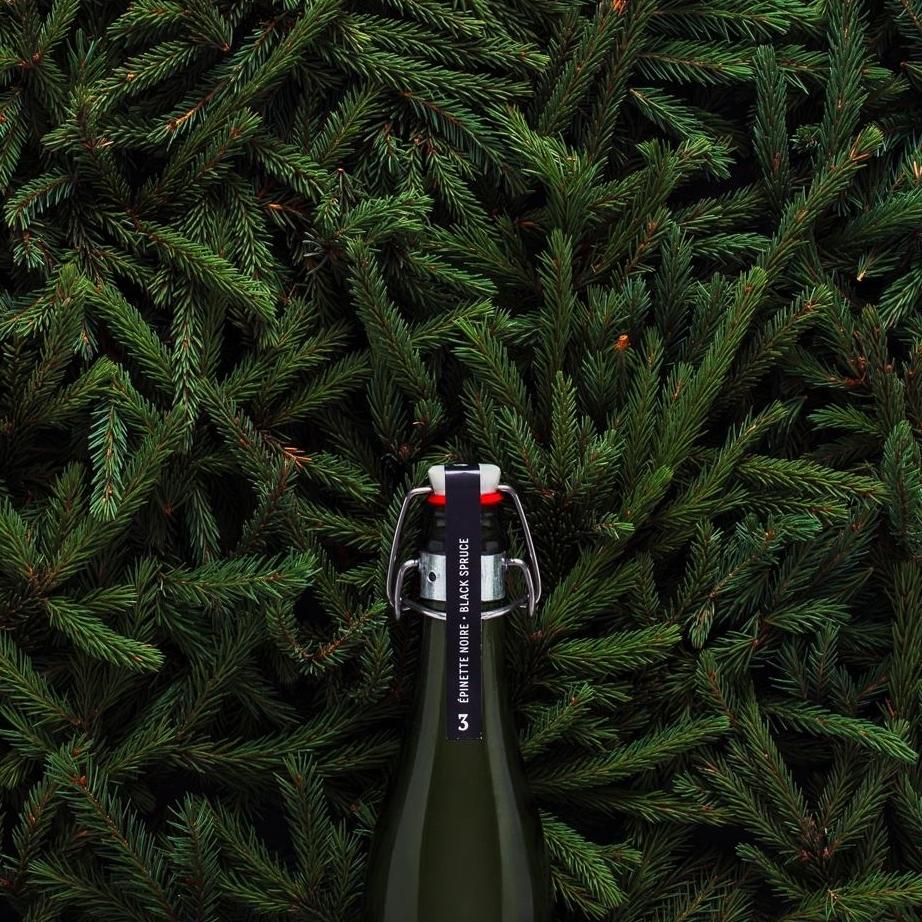 3.Épinette noire - Fraîche et désaltérante, délicatement mentholée et herbacée, évoquant nos grandes tourbières boréales canadiennes.