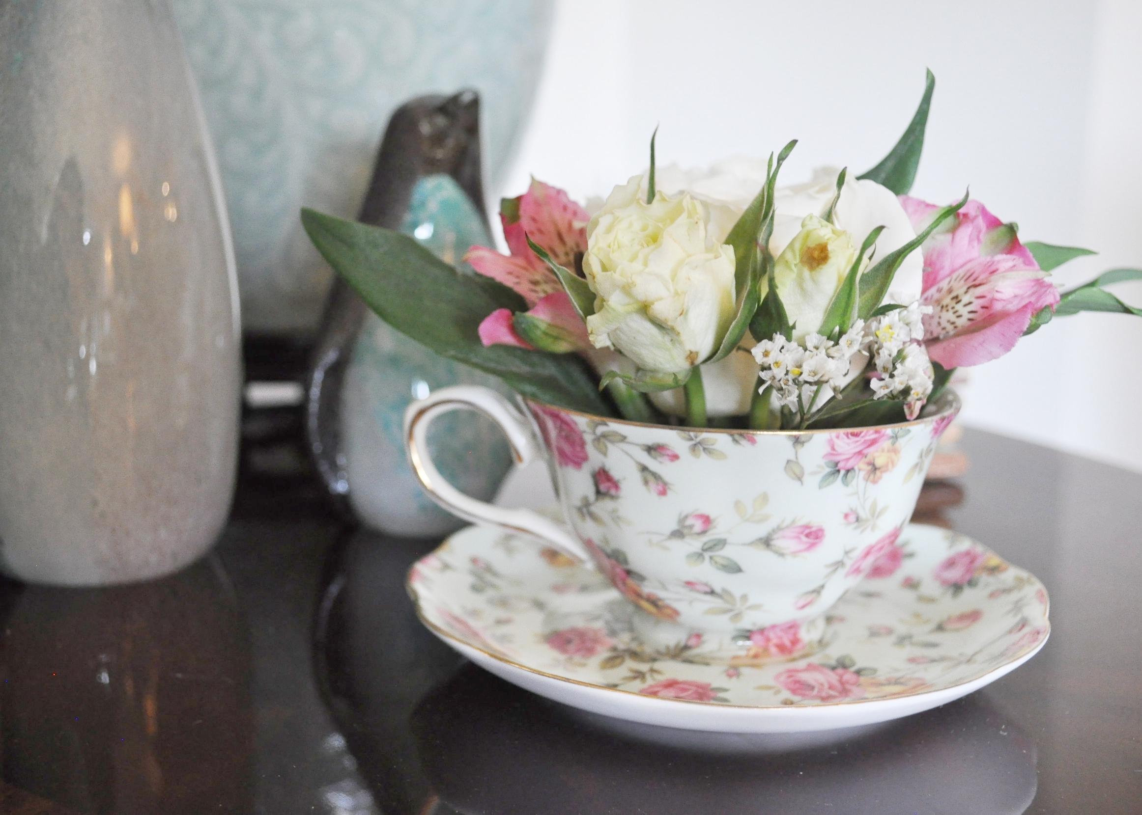 Tea Party floral arangement.