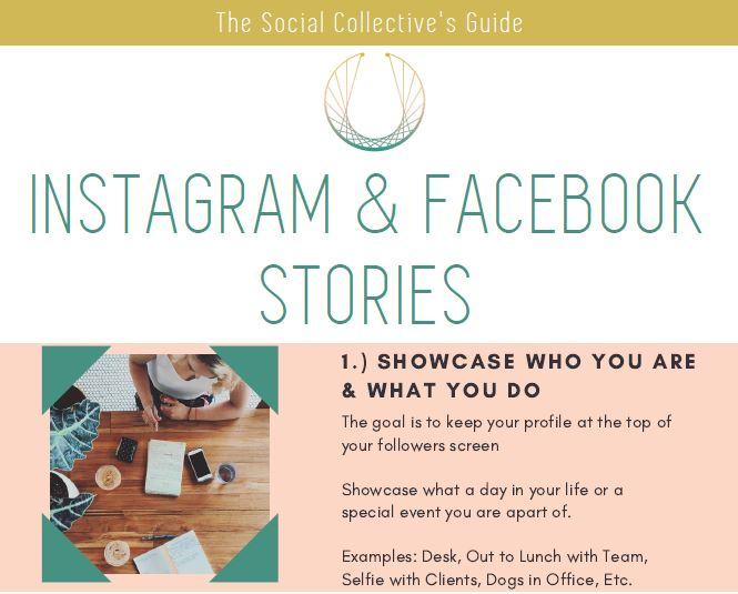 instagram facebook stories guide social collective