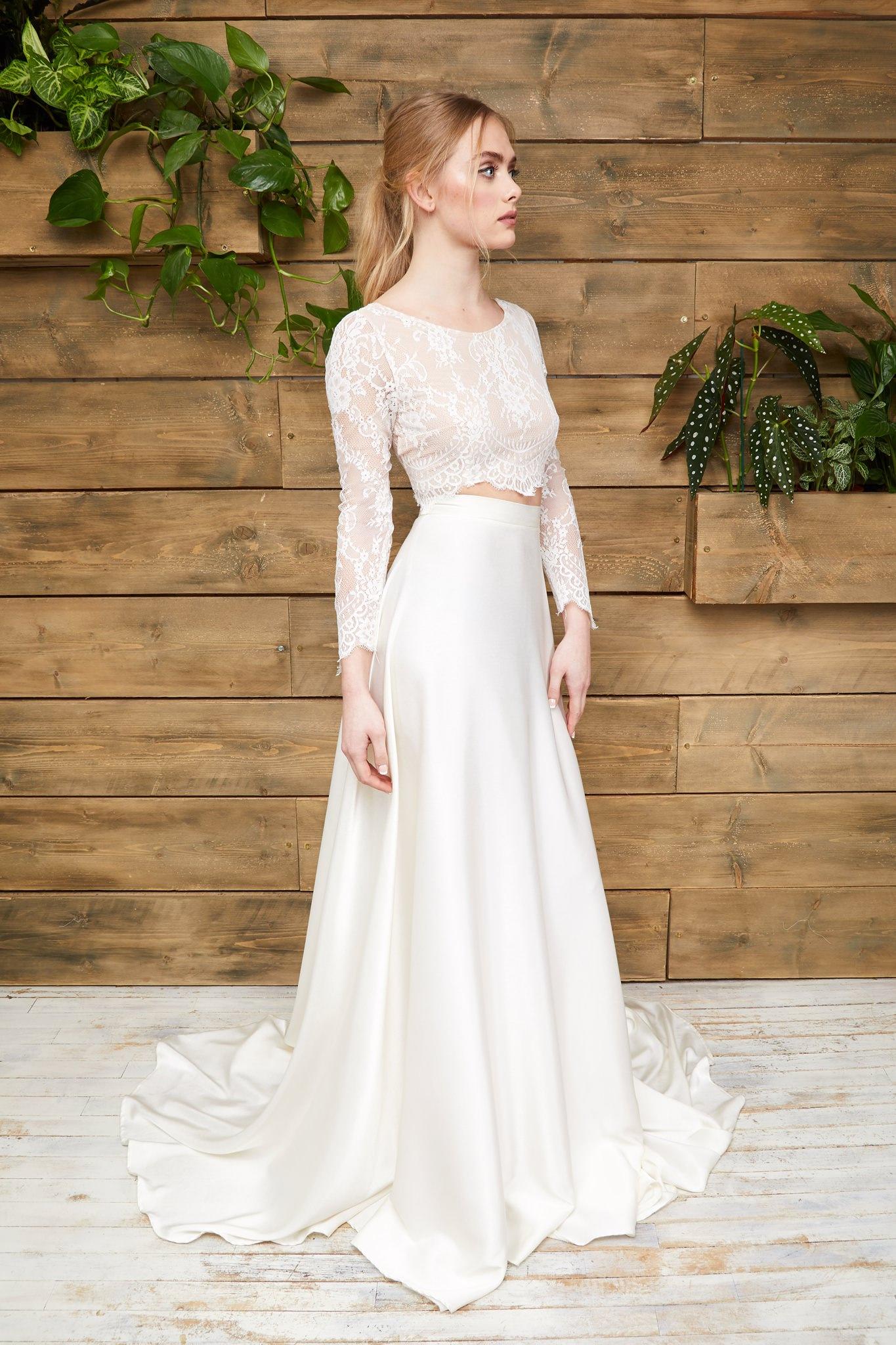 Rachel Burgess Bridal Boutique - Effy Crop & Olive Skirt.jpg