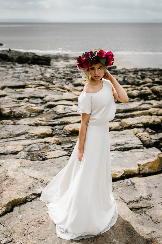 Rachel Burgess Bridal Boutique - Bridal Separates - Handmade Wedding, Boho wedding dress. Frankie Separates. Alternative Bridal.jpg