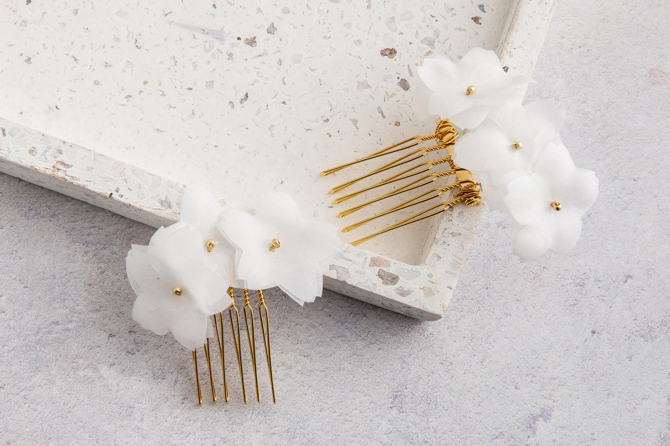White Silk Flower Hairslides.jpg