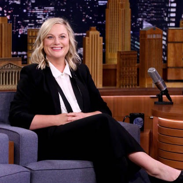 FBF to last weeks press for Making It with one of my favorites Amy Poehler. Here on Fallon and Seth Myers. Hair by me.... Makeup by @antheaking #amypoehler #campbellandcampbellsalon #anthonycampbellhair #makingit #thetonightshow #sethmeyers