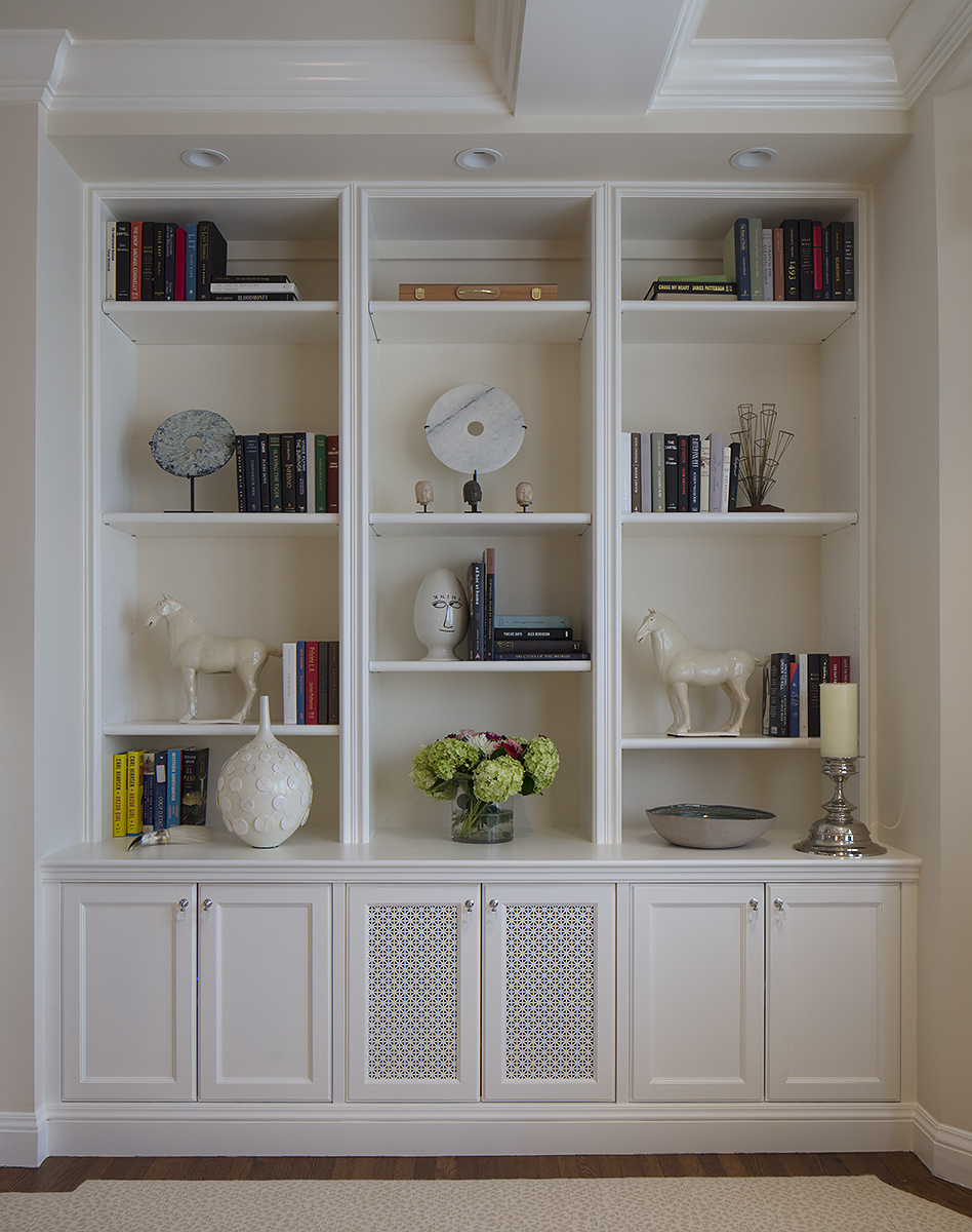 Hyde Street Condo Custom Bookcase - San Francisco, California