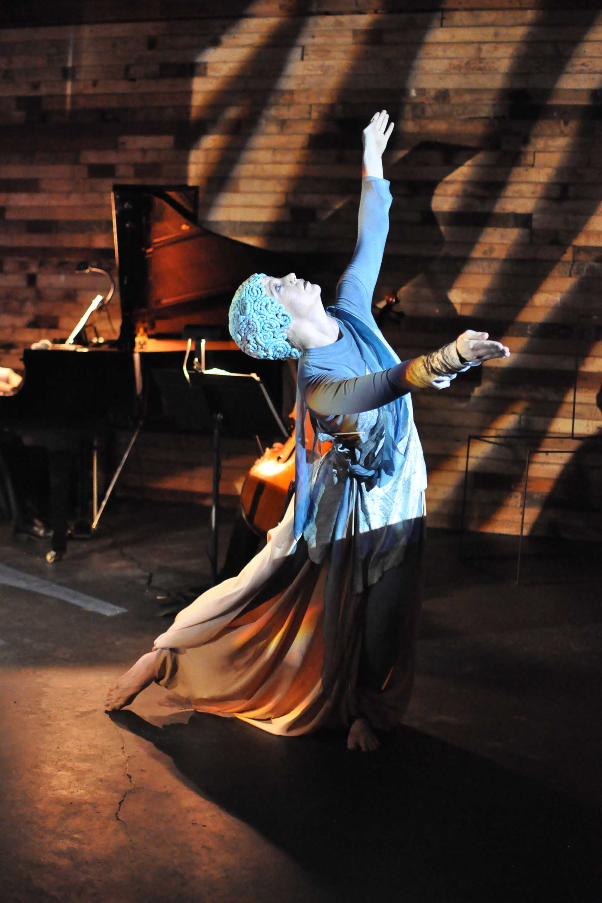 Selkie. Misha Penton, soprano, concept, libretto, director, producer. Music by Elliot Cole. Meg Brooker, dancer & choreographer. Lighting by Megan M. Reilly.Sets, David A. Brown & Michael Crowder.Costumes, Sarah Mosher.