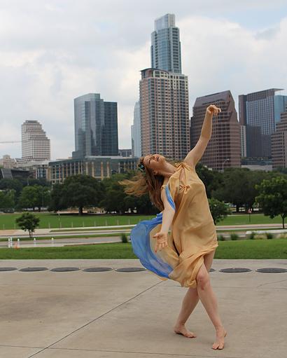 Meg Brooker,  dancer, choreographer, and dance scholar.