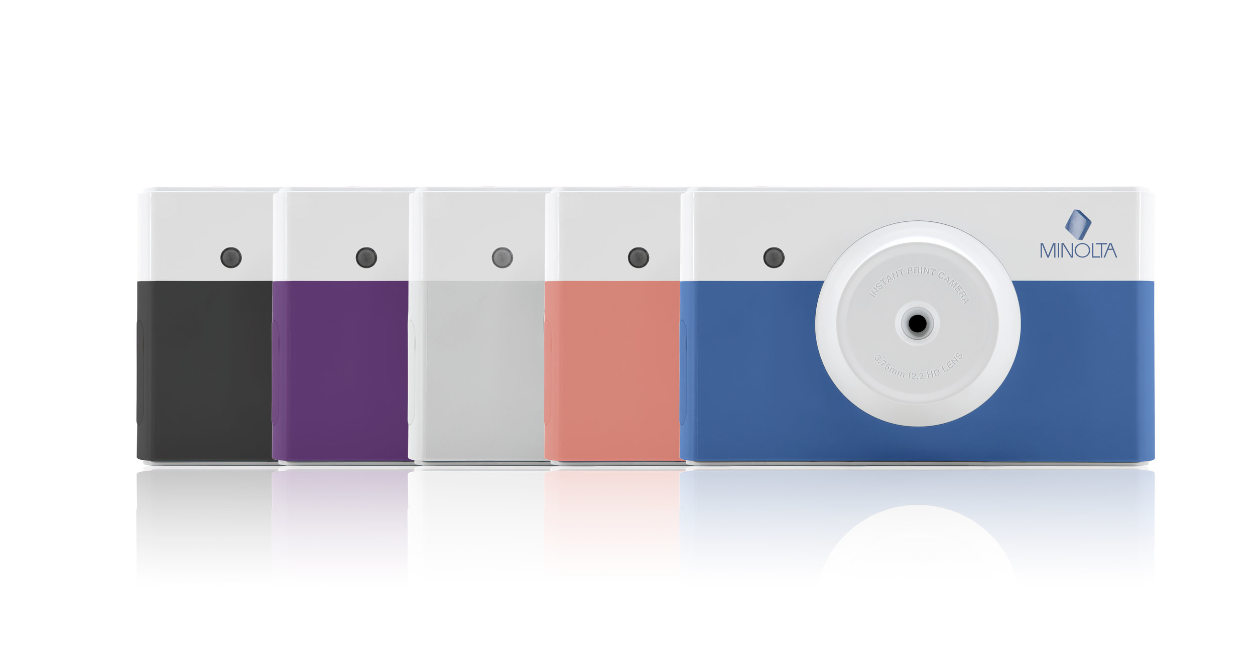 instapix™ is available in 5 fun colors.
