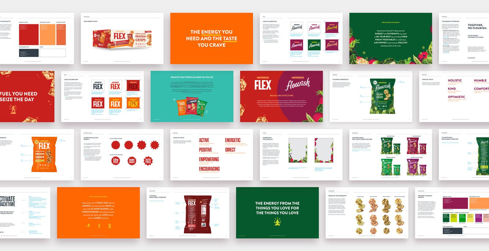 Excerpts from Flex & Flourish Brand Guidelines