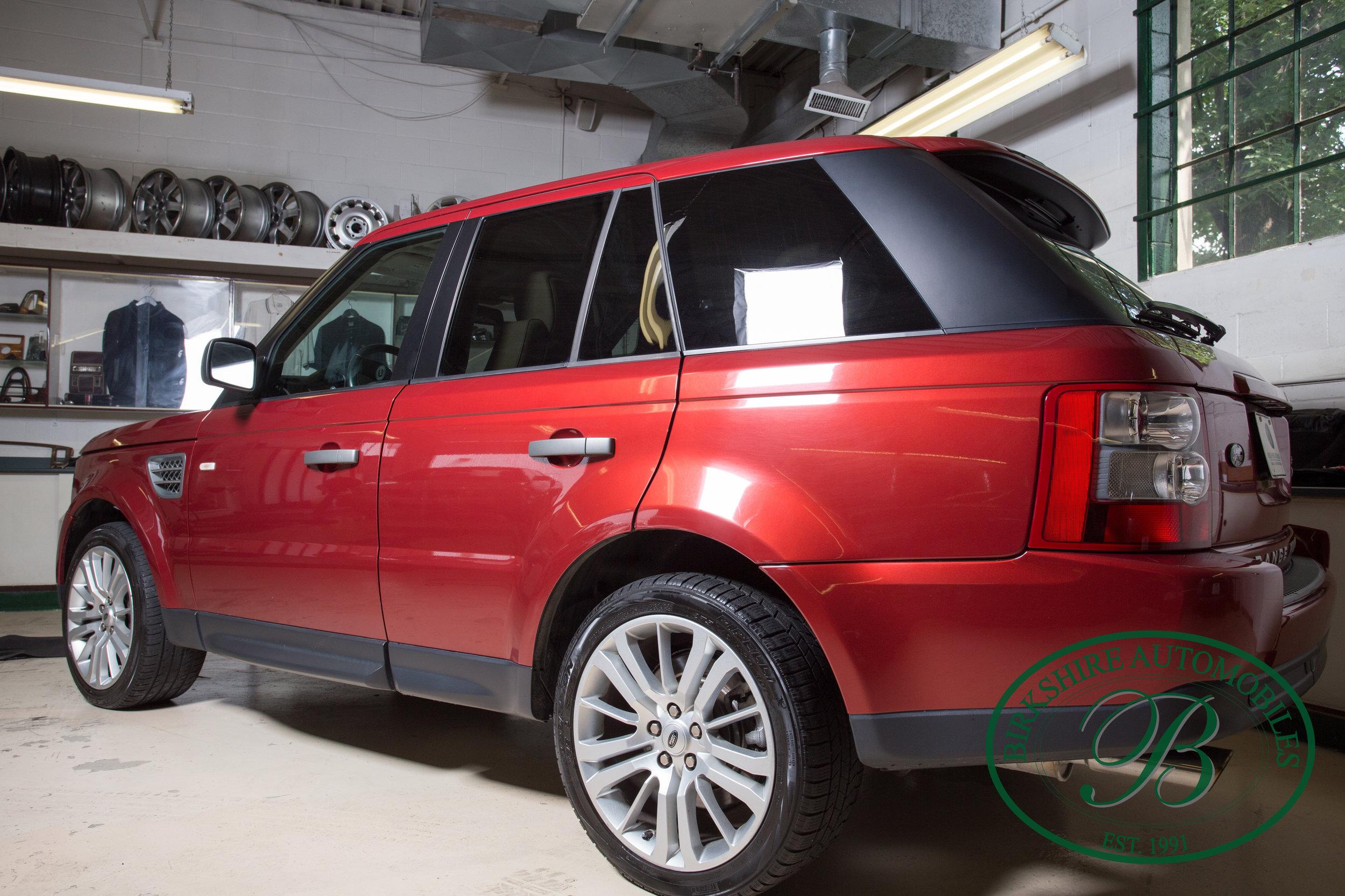 Birkshire Automobiles 2009 Range Rover Sport Supercharged
