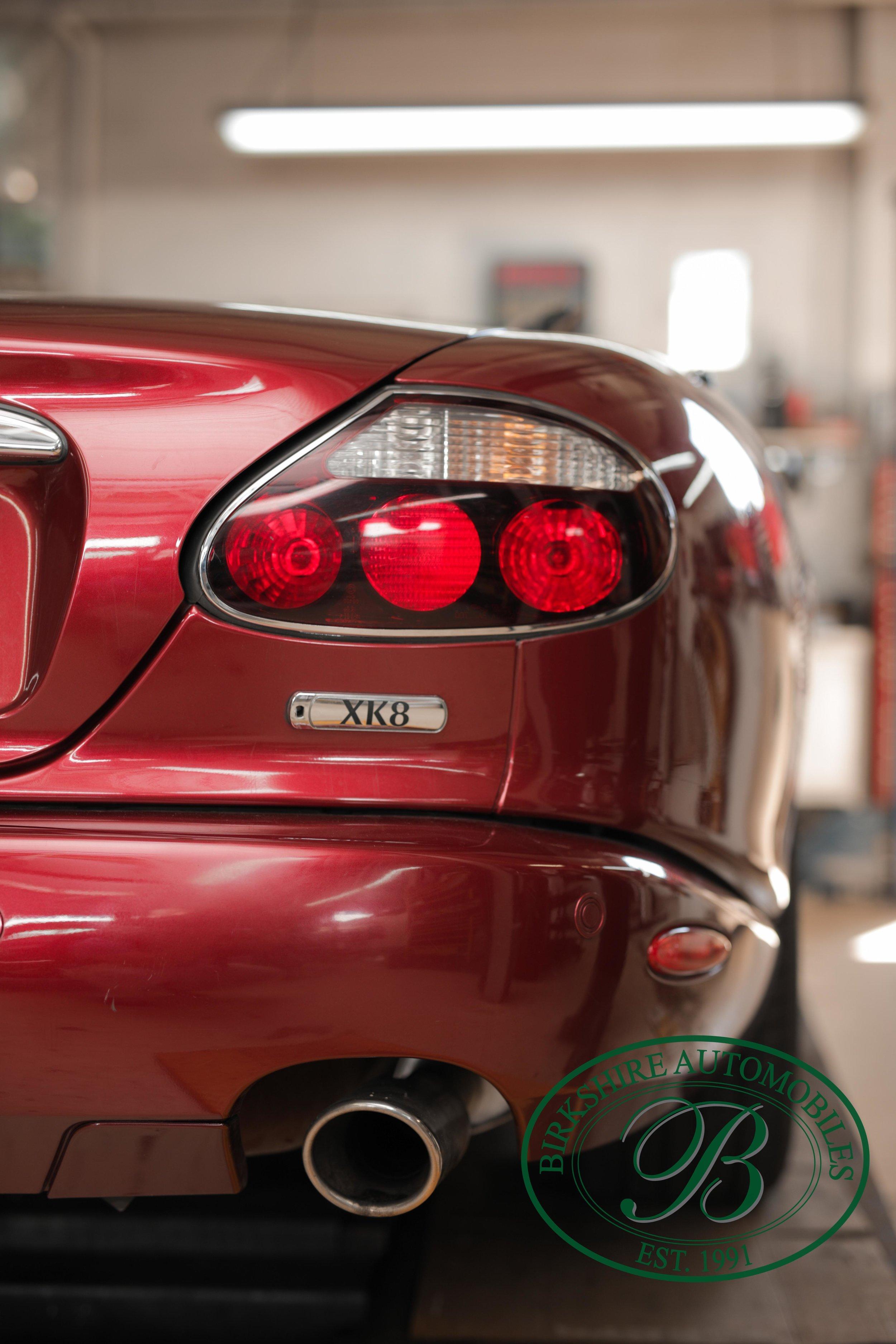 Birkshire Automobiles Britsh Car Service 2008 Jaguar XK8 Convertible-6.jpg