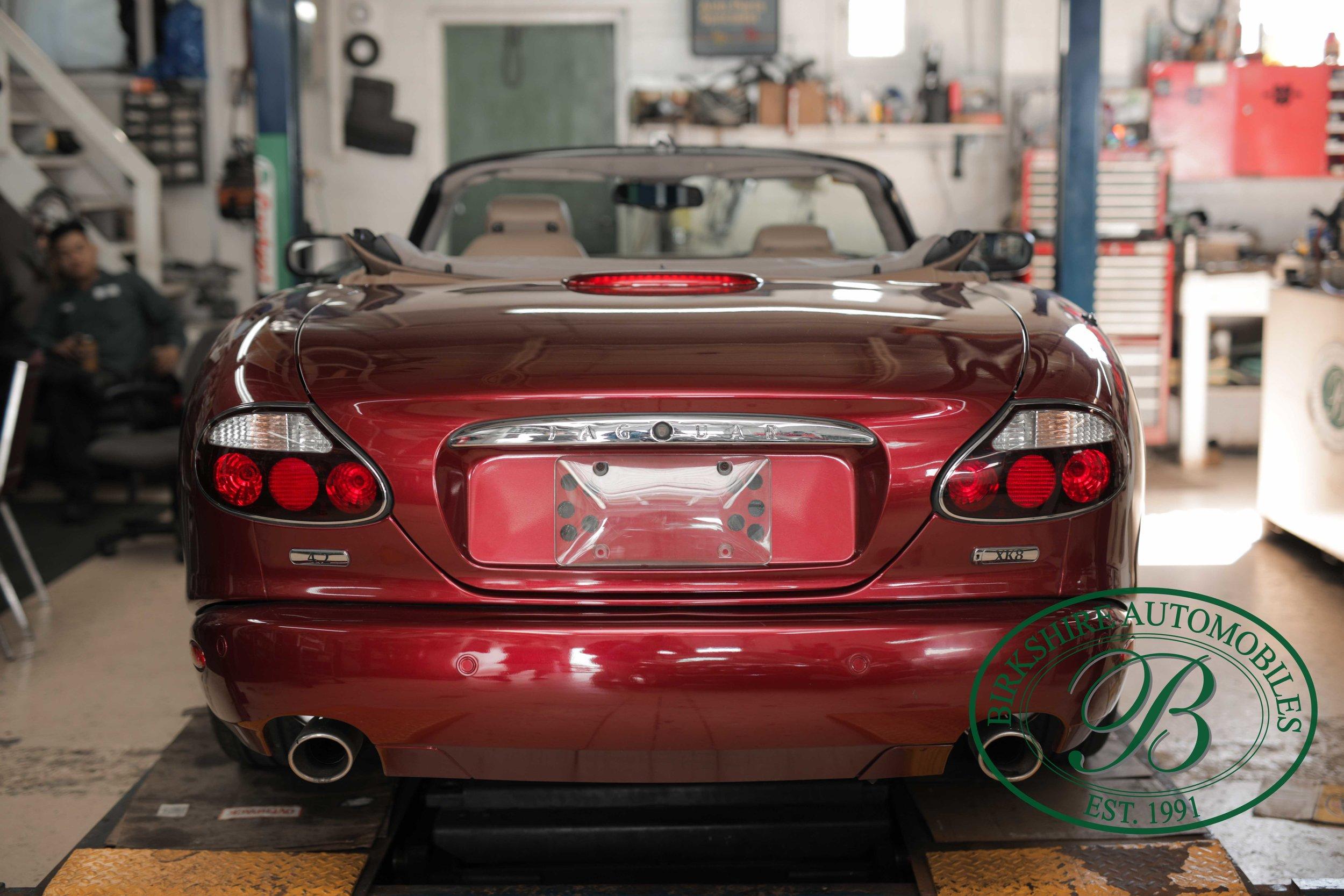 Birkshire Automobiles Britsh Car Service 2008 Jaguar XK8 Convertible-7.jpg