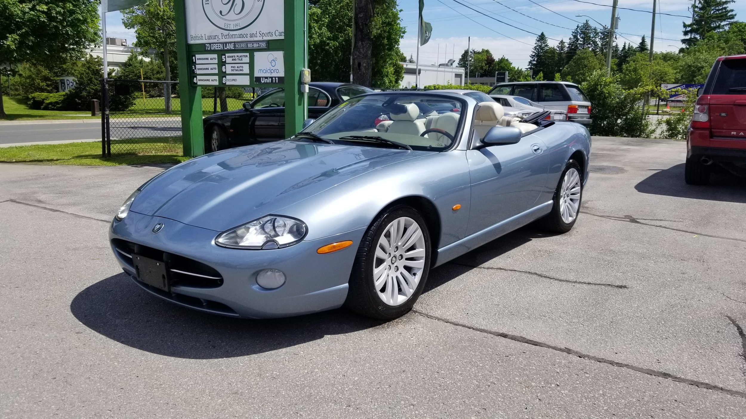 2005 Jaguar XK8 Convertible - SOLD - Silky smooth V8 with only 67,000 miles!