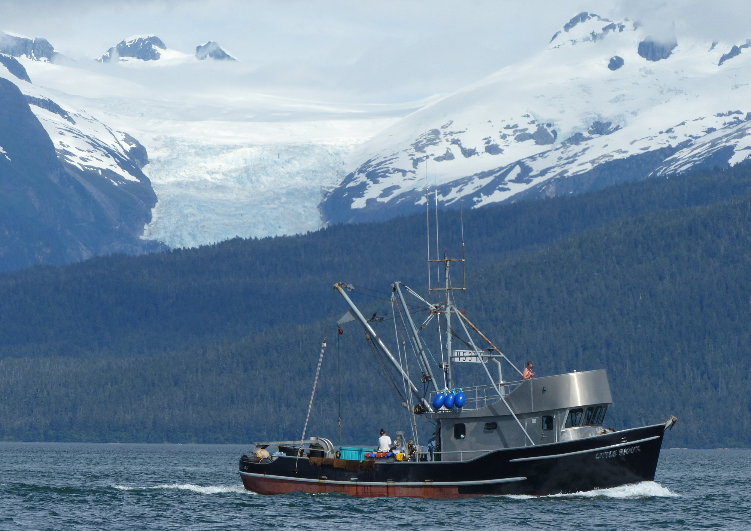 SE Alaska Fishboat - Switching to renewable clean fuels would help protect the fish and improve their habitat (Photo by P Wilcox)