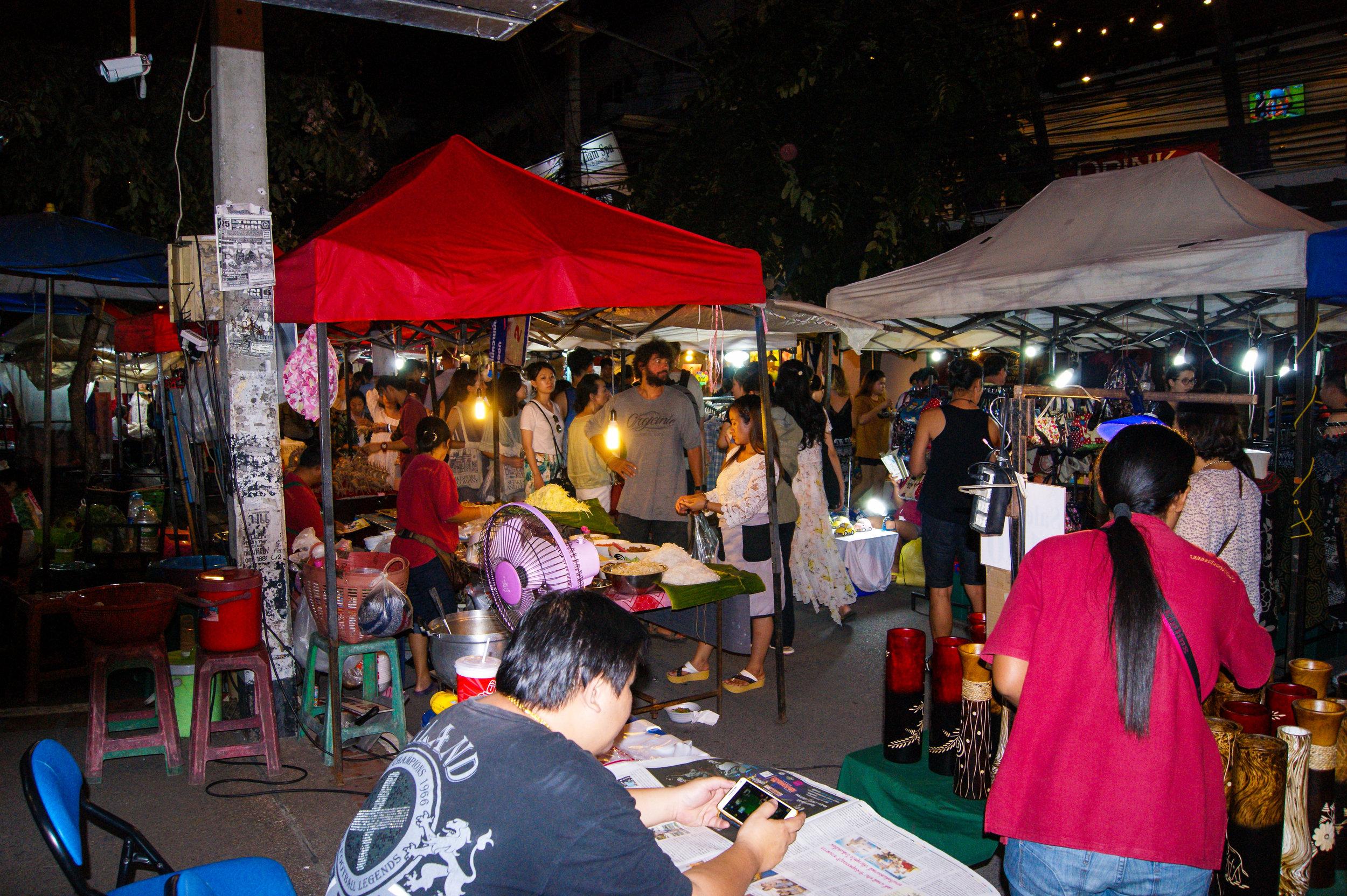 Chaing Mai Sunday Market