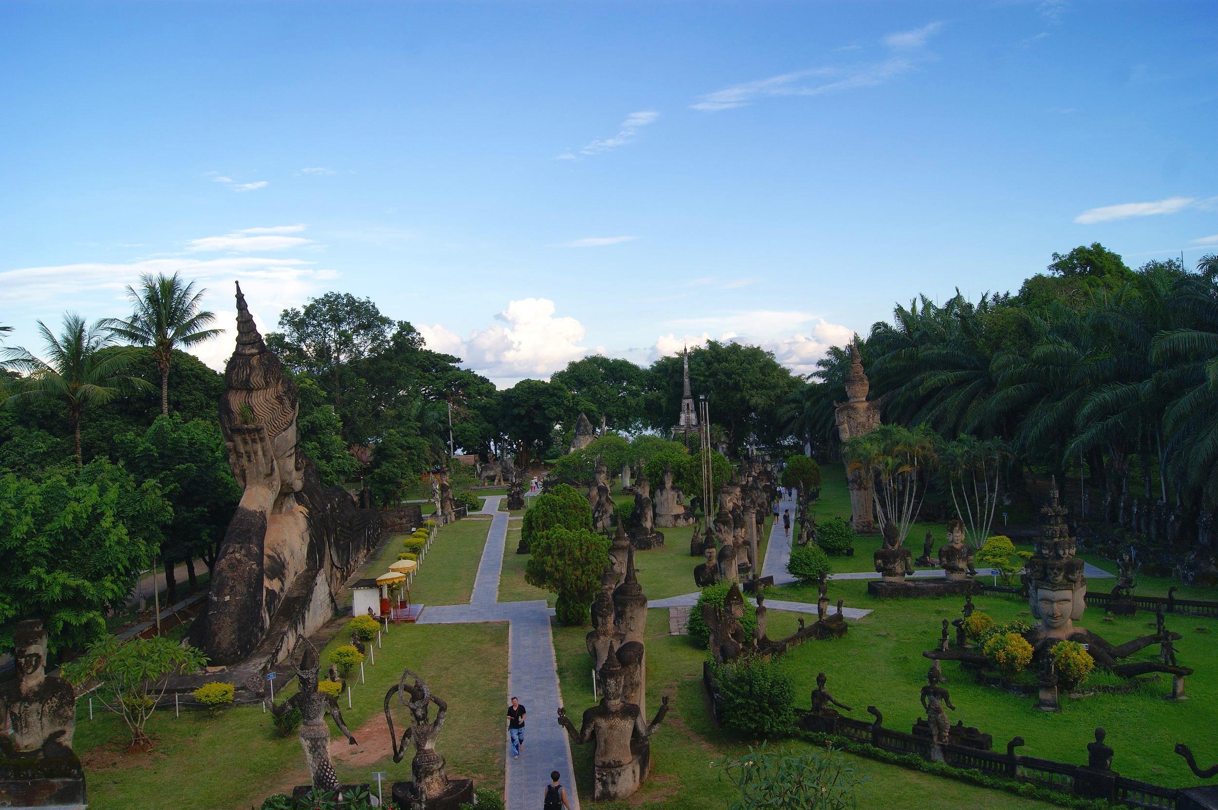Buddha Park - Vientiane Laos