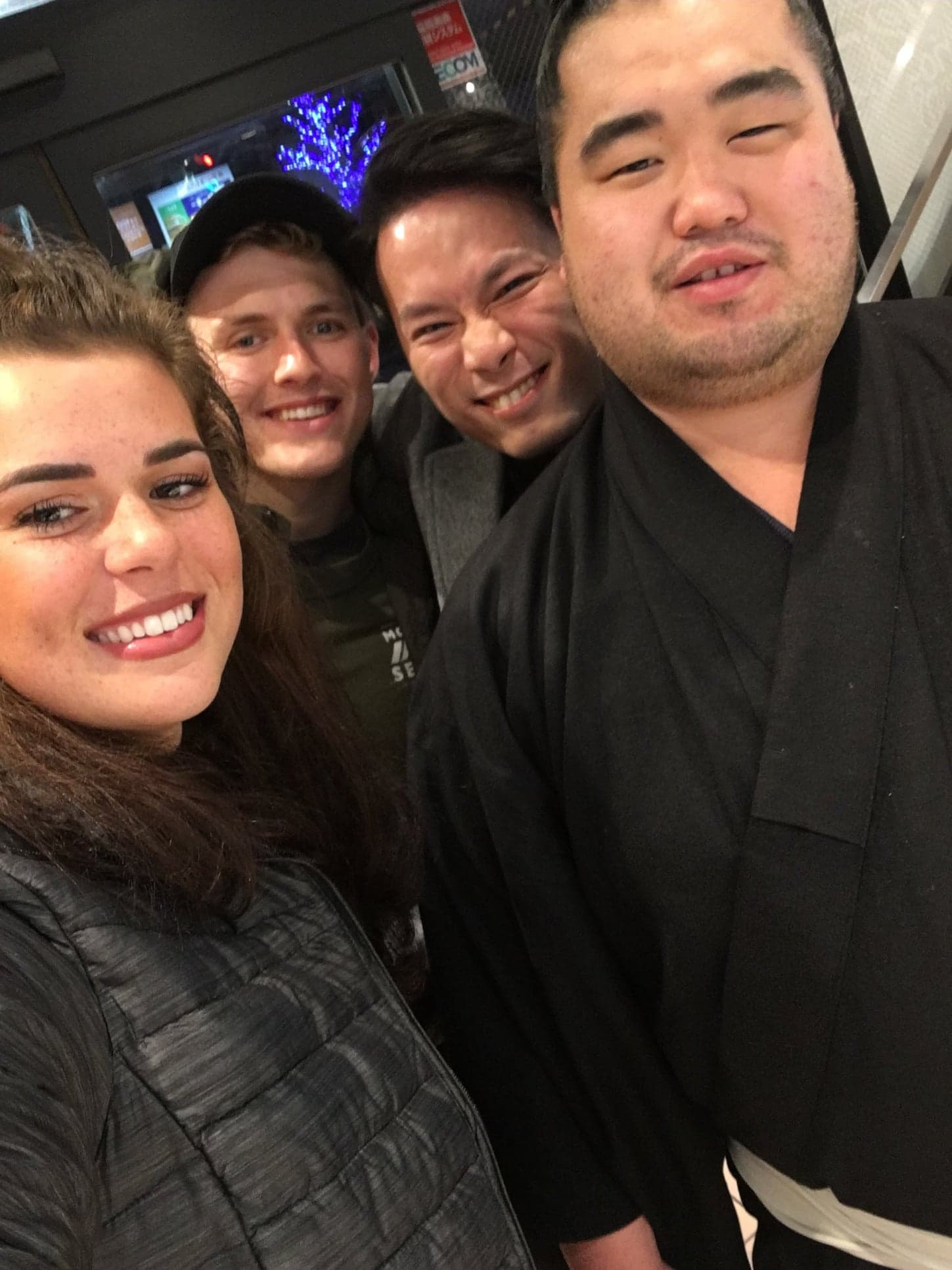Selfie with a Sumo!