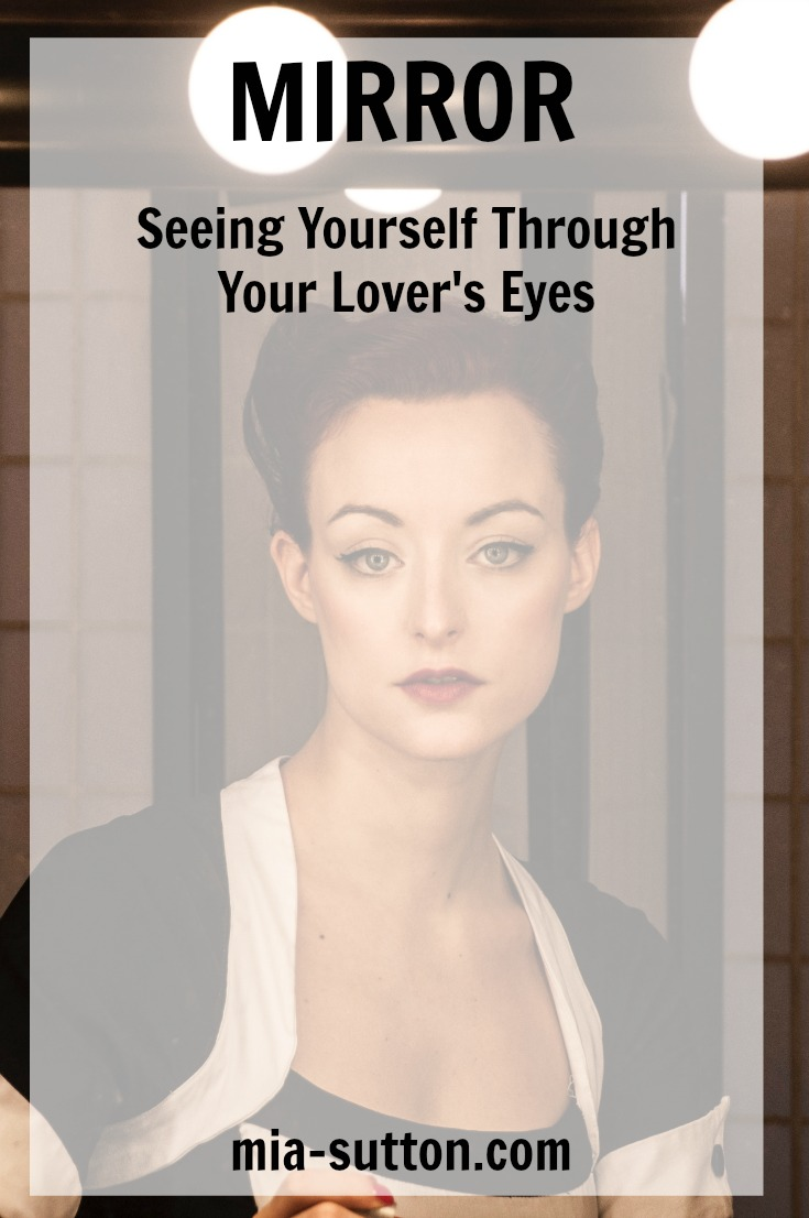 Body image | seeing yourself through your husband's eyes | what my husband sees when he looks at me | Feeling beautiful after body changes | mia-sutton.com