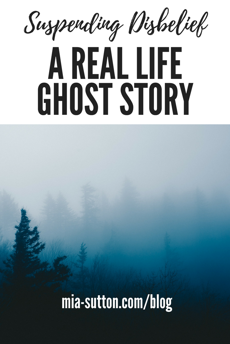 Do you believe in ghosts? Spirits, apparitions, things that go bump in the night? Do you believe that a person's energy can exist without a living, breathing body?
