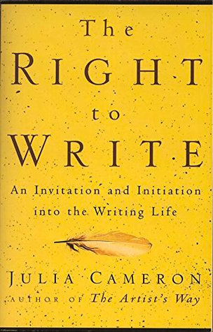 The Right to Write by Julia Cameron - What if everything we have been taught about learning to write was wrong? In The Right to Write, Cameron asserts that conventional writing wisdom would have you believe in a false doctrine that stifles creativity. With the techniques and anecdotes in The Right to Write, readers learn to make writing a natural, intensely personal part of life.