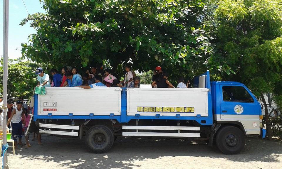Transportation to baptism