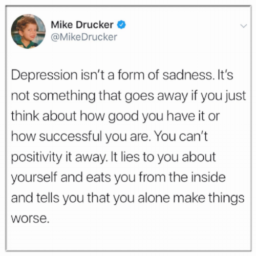 Mike Drucker Quote