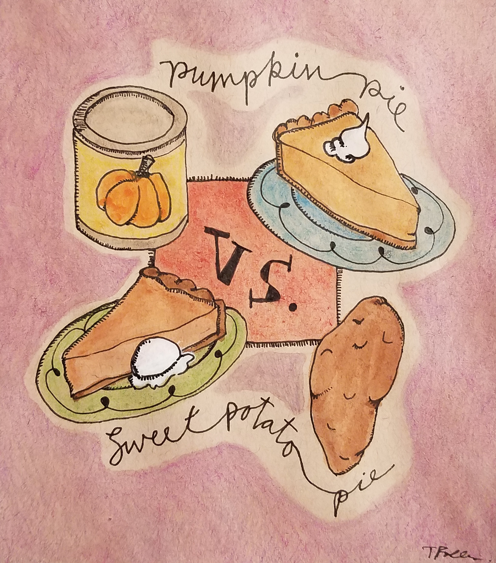 Pumpkin Pie vs. Sweet Potato Pie?