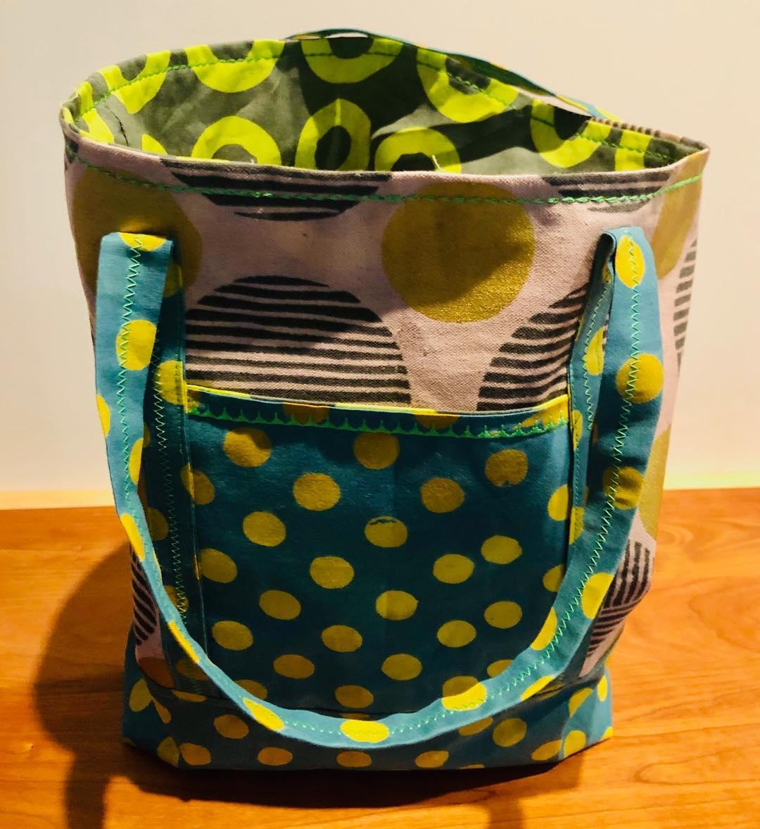 Polka Dots and Circles Bag
