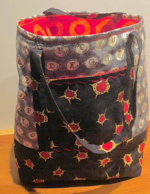Chic Alphabet & Orbits Bag
