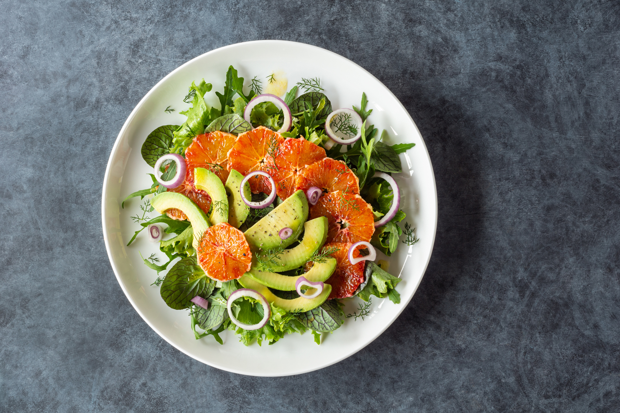 Marge's Avocado Citrus Salad