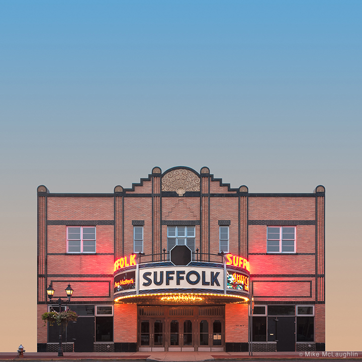 Suffolk Theater ,  by Mike McLaughlin (Riverhead, NY) From the  East End Extractions Exhibit.
